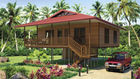 China Light Steel Frame Home Beach Bungalows  factory